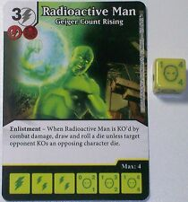RADIOACTIVE MAN GEIGER COUNTER RISING 126/142 Civil War Dice Masters Rare