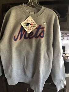 New York Mets Crewneck From Majestic Sizes Medium, Larage & 2Xl New. With Tags
