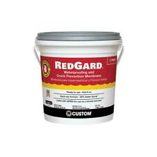 Waterproofing And Crack Prevention Membrane RedGard 1 Gal Quick Dry Formula