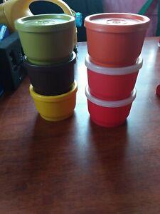 Vintage Tupperware snack cups