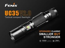 Fenix UC35 V2.0 LED Taschenlampe mit USB Anschluss inkl. Fenix 3500mAh Akku