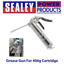 Sealey AK446 tipo pistola una mano/Pistola Engrasadora Manual De Mano Para 400g Cartucho