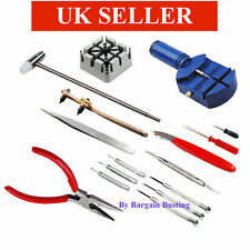 16 Pieces Watch Repair Tool Kit Set & Wrist Strap Adjust Pin Tool Back Remover