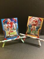 San Francisco 49ers Legends Lot!! 2019 Joe Montana /199 & Steve Young Gold Lazer