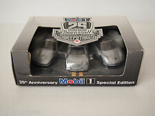 MOBIL 1 - 25th ANNIVERSARY DREAM LEASE CAR SET VETTE / MERCEDES / PORSCHE