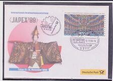 BRD-1999-Briefm.-Ausst.-Beleg-JAPEX-TOKYO-12-14-11-1999-Mi:1983- So-Stpl.