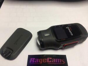 Garmin VIRB 1080p Full HD Helmet Action Camera Recorder+ Headstrap, Battery, Cap