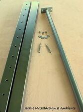 Edelstahl Turnstange Reckstange Turnreck Reck 150 cm mit VA Pfosten Länge:295 cm