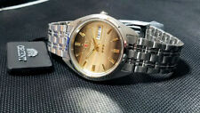 Orient Classic Dress Watch Automatic Root Beer Banded Dial Watch FREE US SHIP