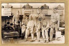 Cpa Carte Photo Militaire Dortoir du 29e RI Infanterie d'Autun WW1 m050