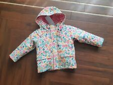 Jojo Maman Bebe Fisherman Blossom Rain Coat Jacket Age 12-18mths FREEPOST
