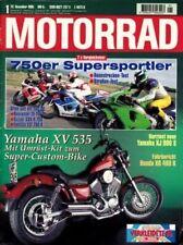 M9601 + YAMAHA XV 535 CustomKit + Gebrauchtkauf KAWASAKI VN-15 + MOTORRAD 1 1996