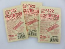 Kadee #322 MAGNE-MATIC UNCOUPLER 3-Packs HO Scale Accessories Vintage USA