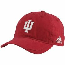 quality design cbb13 cb8af adidas Indiana Hoosiers Adjustable Embroidered Slouch Cap Hat