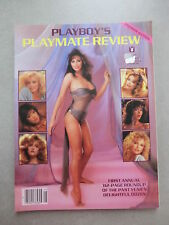 PLAYBOY'S PLAYMATE REVIEW 1985 PREMIERE ISSUE