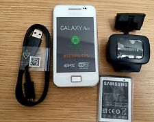 Samsung Galaxy Ace GT-S5830i Sim Free Unlocked White Smartphone 60 Day Warranty