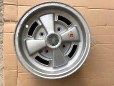 ABARTH  FIAT 500 INNOCENTI MINI CERCHIO BORRANI 10x4 1/2  OLD STOCK WHEEL