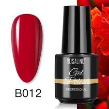 Rosalind Solid Color Gel Nail Polish Led Uv Lamp Violet Nail Art Uv Gel Soak Off