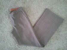 GAP women's dress career pants brown print lined~size 6 Regular