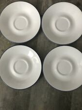 Corelle Corning Fruit Basket Too Coffee Cup Plates Saucers Set Of 4