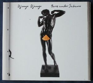 Django Django ‎– Born Under Saturn CD with poster