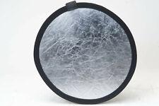 """Photo Flex Black/Silver 12"""" reflector N5998"""