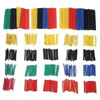 328 Pcs 2:1 Heat Shrink Tubing Tube Sleeving Wrap Cable Wire 5 Color 8 Size USA