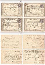 CPA précurseur Rouen Avril 1877 lot 480