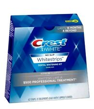 Crest 3D White Supreme FlexFit Whitestrips 42 Strip. Exp 2019