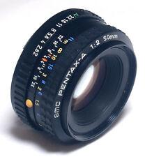 SMC Pentax-A f/2 1:2 50mm K Mount Lens for SLR DSLR Mirrorless Camera