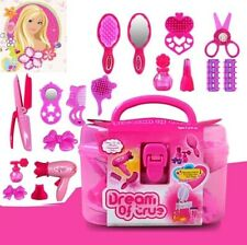 Pretend Play Makeup Kit Cosmetic Makeup Toy Kit For Girls Kids Beauty Toys US