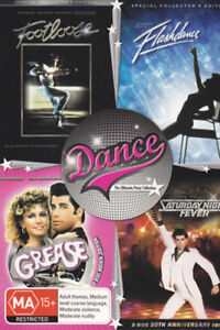 Flashdance/Footloose /Grease/Saturday Night Fever NEW DVD R4