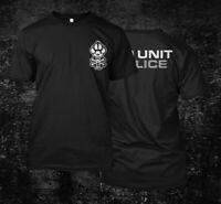K9 unit police -  Custom Men's Black T-Shirt Tee