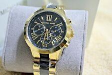 Michael Kors Bradshaw Stainless Steel/Resin Chronograph Women's Watch MK6501