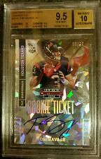 TOM SAVAGE 2014 CONTENDERS CRACKED ICE AUTO #'d 8/22 BGS 9.5 TRUE GEM 10 AUTO