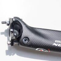 Voll Carbon Sattelstütze Sattelrohr 31,6 x 400 mm Matt 3k 270gramm