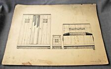 1920s ART DECO FRENCH FURNITURE MOBILIER FRANCAIS DESIGNS PRINT MOREAU PARIS  9