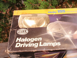 HELLA 155 CAR LIGHT KIT HALOGEN DRIVING LAMPS