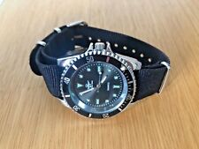 🔥MONTRE BRACELET NATO 20MM NOIR NYLON STYLE SPORT JAMES BOND MARINER VINTAGE🔥