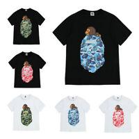 2019 A Bathing Ape Bape Kids Boy Girl Baby Milo On Star T-shirt Tops Summer Tee