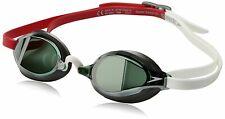Speedo Speed Socket 2.0 Mirrored Adult Swim Goggle, Fiery Red