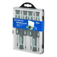 LogiLink Nuovo di Zecca WZ0021 Set di cacciaviti-Capi di Acciaio per i lavori di precisione