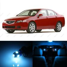 14 x ICE BLUE LED Interior Lights Package For 2004 - 2008 Acura TSX + PRY TOOL
