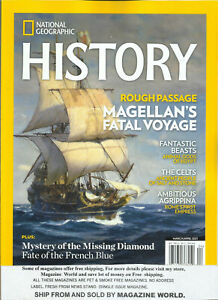 NATIONAL GEOGRAPHIC HISTORY,  ROUGH PASSAGE   MARCH / APRIL, 2021