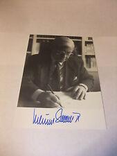 AK Autogrammkarte Foto mit Original Autogramm Helmut Schmidt handsigniert