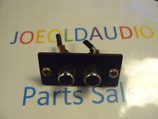 Kenwood KA 2500 Original RCA Jack. Replaces Tape Record or Tape Play. Tested.***