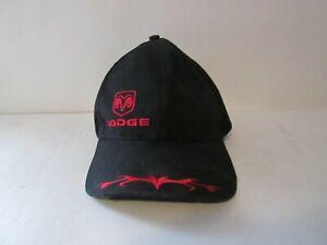 Dodge Ram Logo Motor Company Red Black  Adjustable Hat Cap trucker