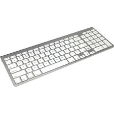 iHome IMACK130 Wireless Bluetooth Keyboard For Macs (Silver/White)