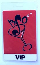 Brian Setzer Orchestra VIP Laminate Pass. BSO Martini Glass.
