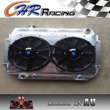 Alloy Radiator&Shroud&Fan HOLDEN HQ HJ HZ HX LH LX Kingswood Torana V8 253 308